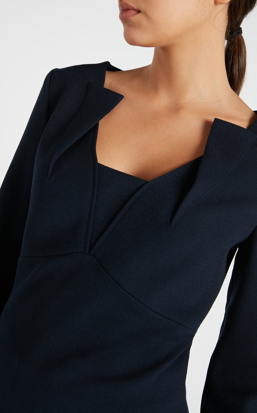 Strand Top In Navy from Roland Mouret