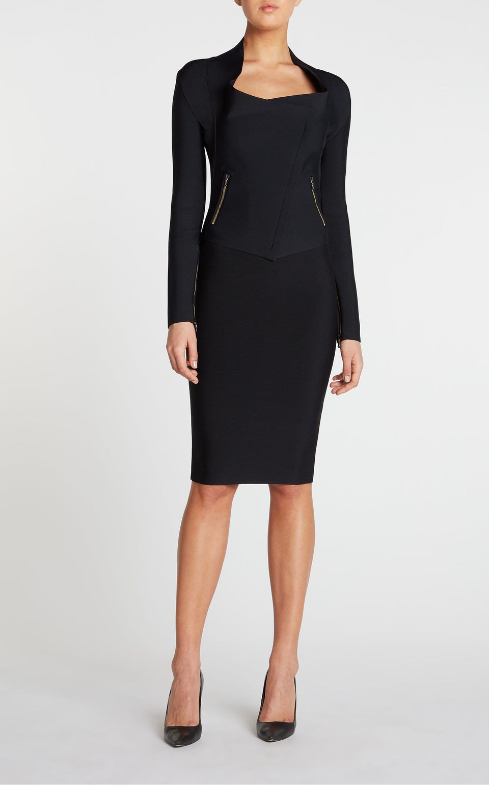 May Skirt In Black from Roland Mouret