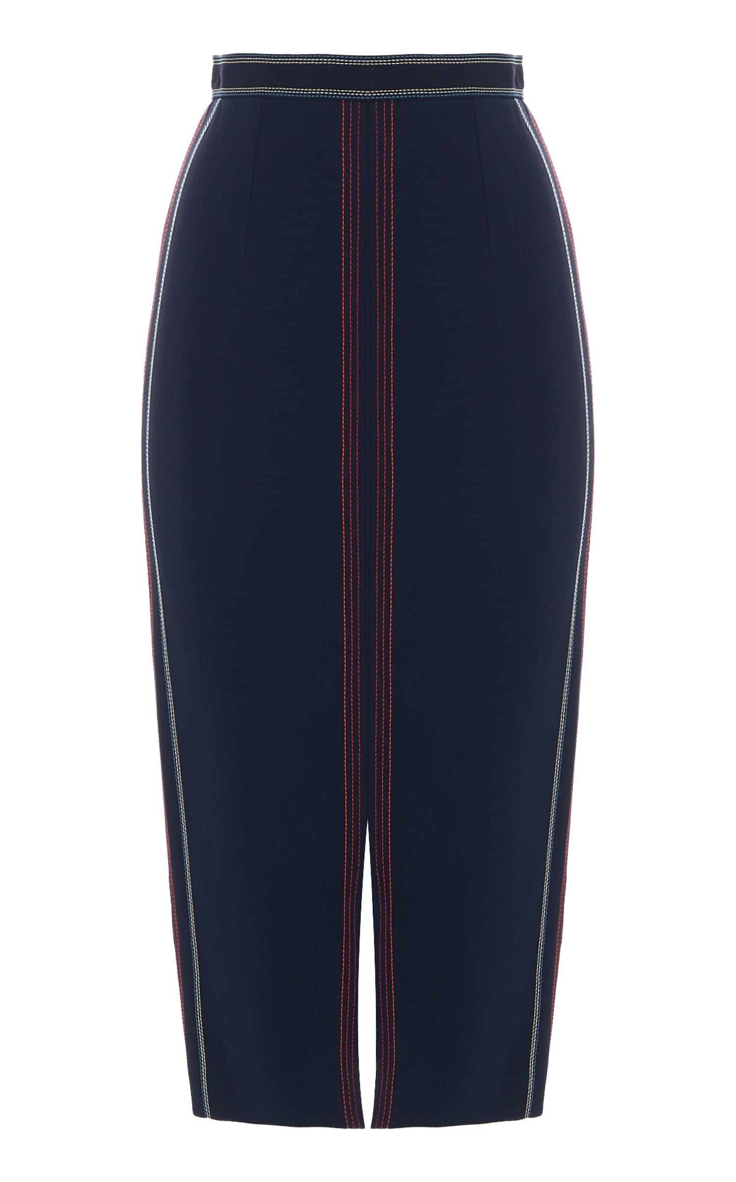 Tracy Skirt In Navy Multi from Roland Mouret