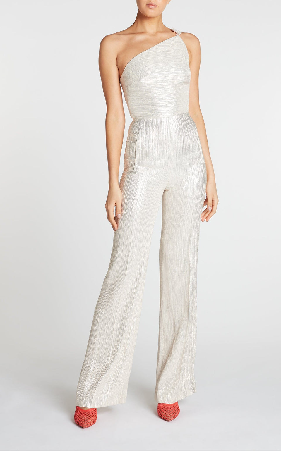 Truro Jumpsuit In Champagne from Roland Mouret