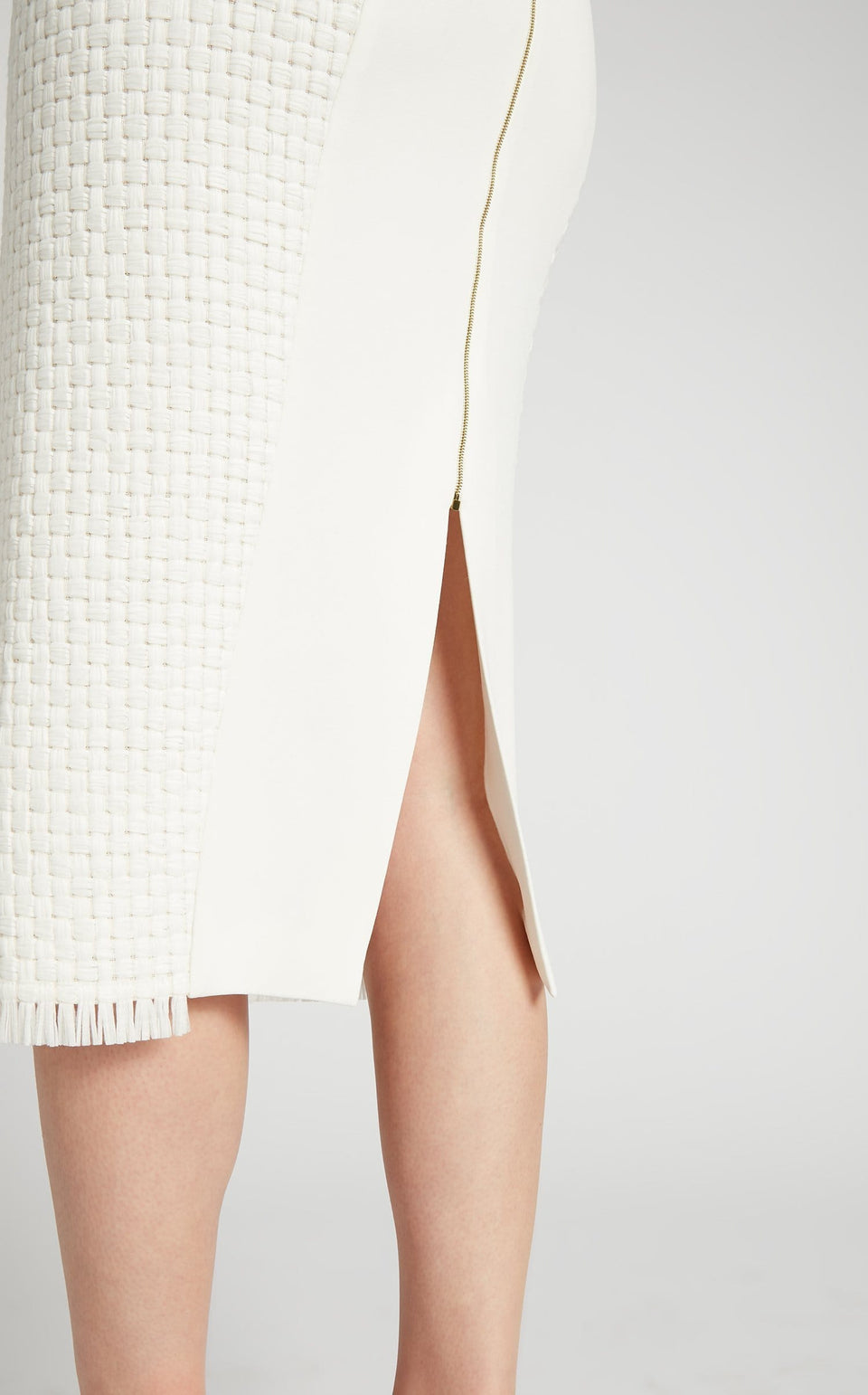 Turnley Skirt In White from Roland Mouret