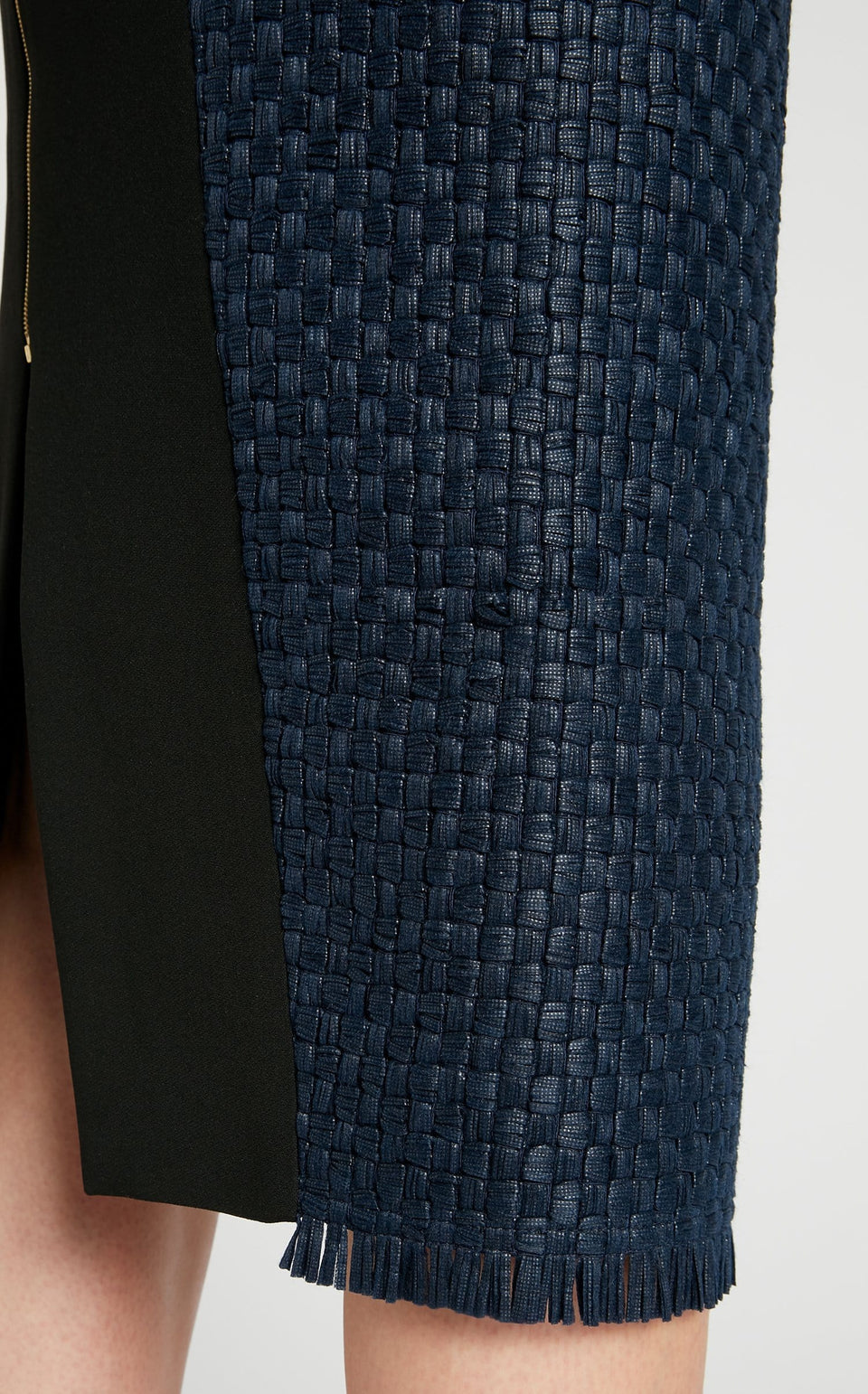 Turnley Skirt In Navy/Black from Roland Mouret