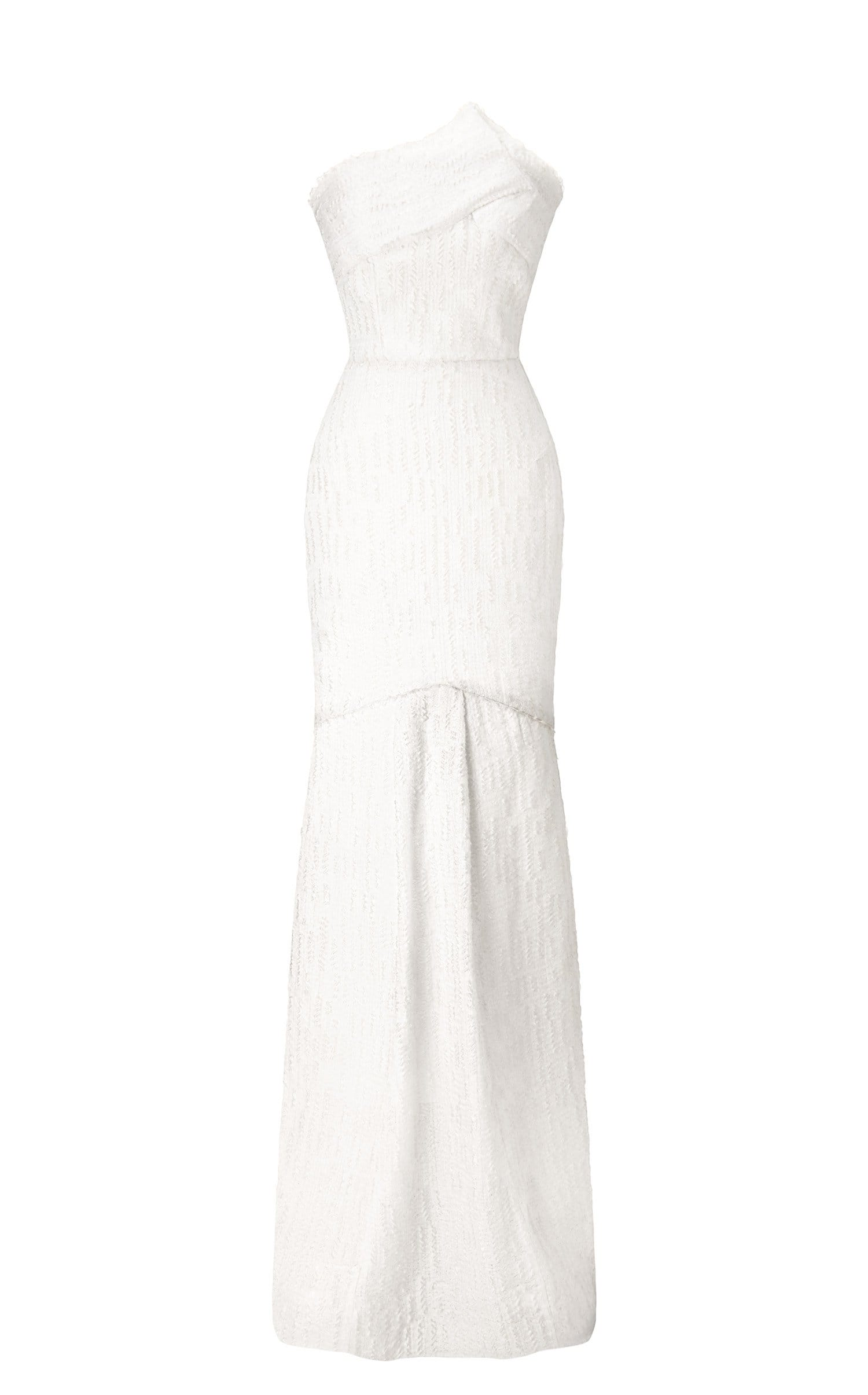 Turret Gown In White from Roland Mouret