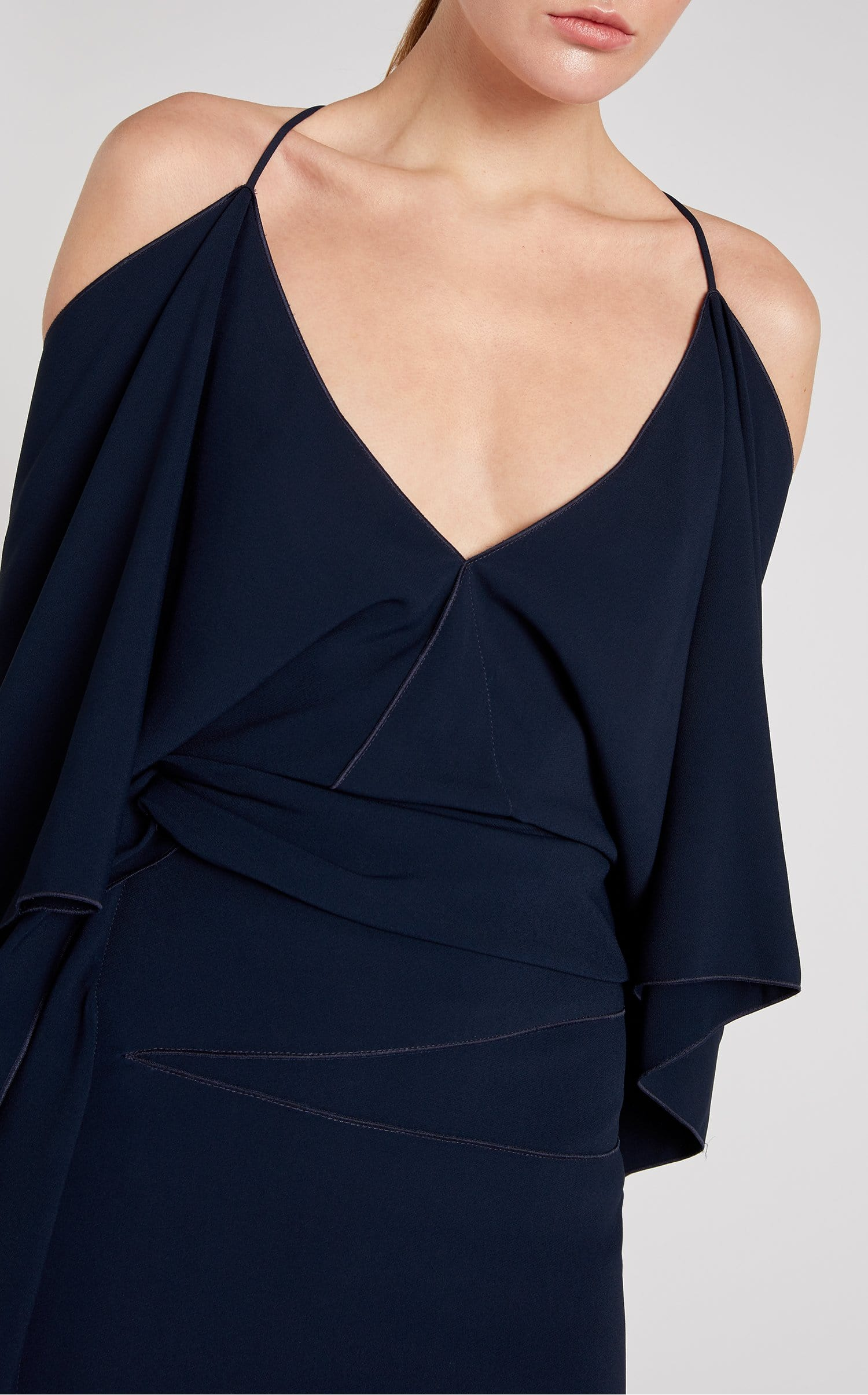 Vincent Dress In Navy from Roland Mouret