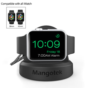 2 in 1 Magnetic Charger stand for Apple Watch Series 1, 2, 3 , MFi Certified