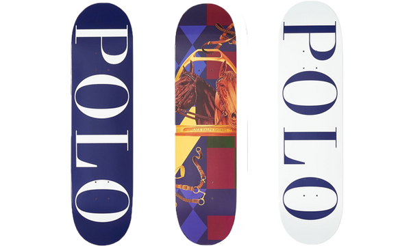 Polo Skateboard Deck Full Set of 3