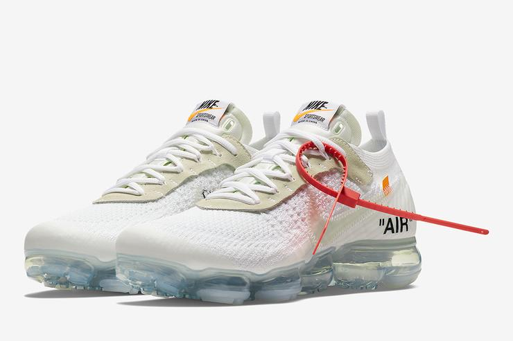 The OFF WHITE x Nike Vapormax Flyknit White | AA3831-100