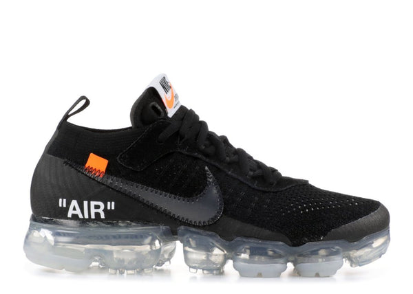 The OFF WHITE x Nike Vapormax Flyknit Black | AA3831-002