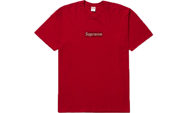 25th Anniversary Box Logo Tee Red