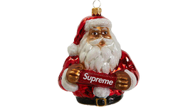 Supreme Santa Ornament
