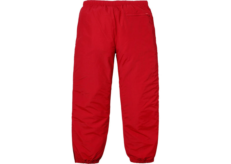 Supreme Tonal Taping Track Pant Red