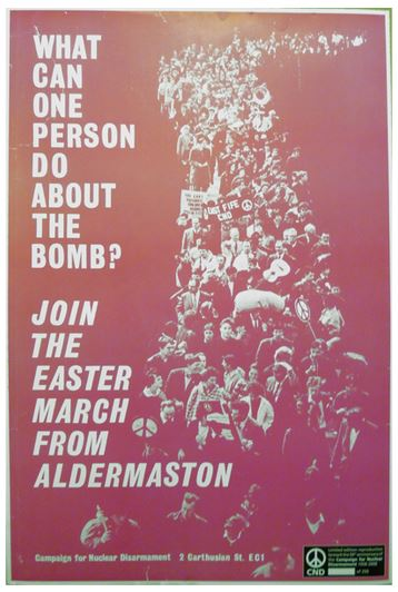 Poster - Aldermaston What Can One Person Do