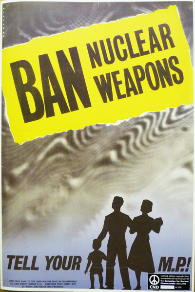 Poster - Ban Nuclear Weapons