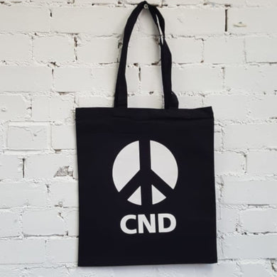 CND Logo Tote Bag - Black