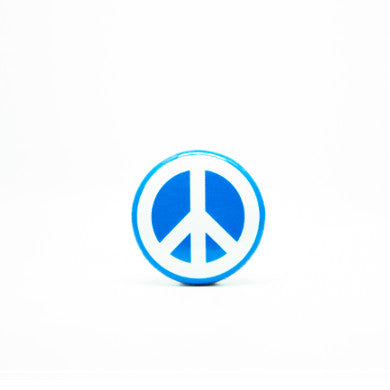 Blue CND Badge