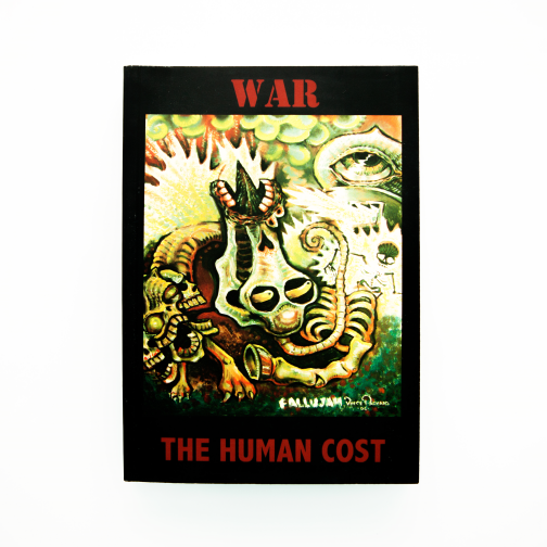 Book - War the Human Cost Graphic Book & CD