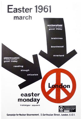 Poster - Easter 1961