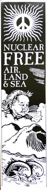 Poster -  Nuclear Free Air Land & Sea