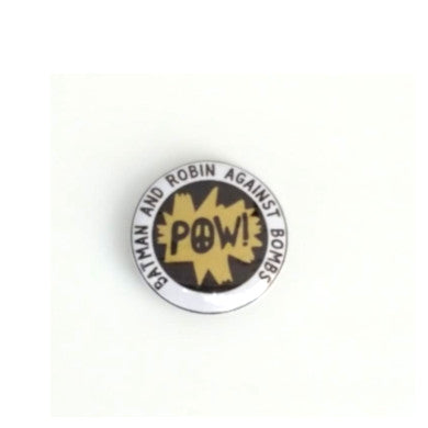 Batman and Robin Against Bombs Badge