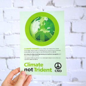 Leaflet - Climate not Trident X 100