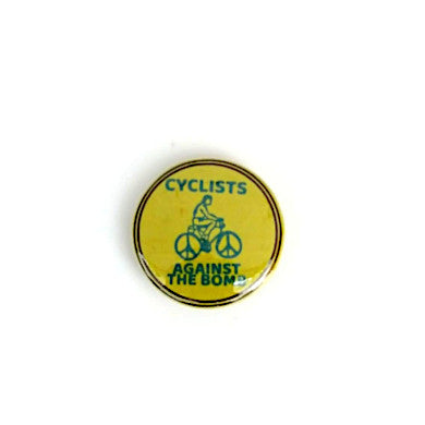 Cyclists Against The Bomb Badge