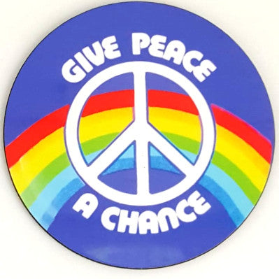 Give Peace A Chance Coaster