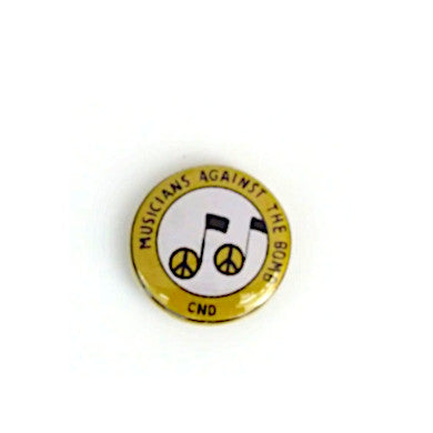 Musicians Against The Bomb Badge