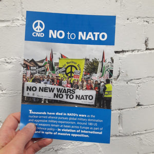 Leaflet - No to NATO X 100