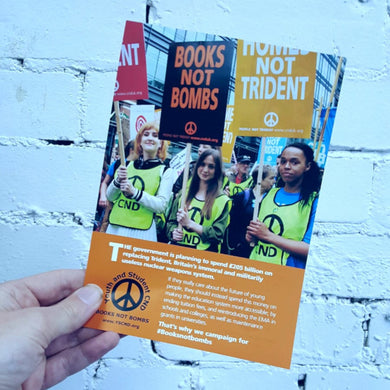 Leaflet - Youth and Student CND X 100