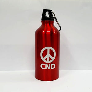 CND Logo Aluminium Water Bottle