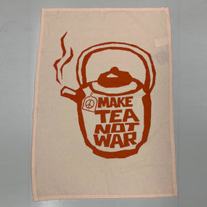Make Tea Not War Tea Towel