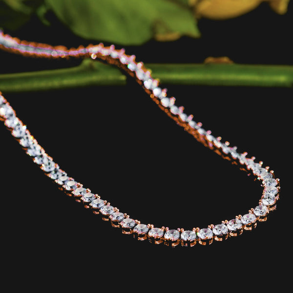 Tennis Chain 4mm Rose Gold