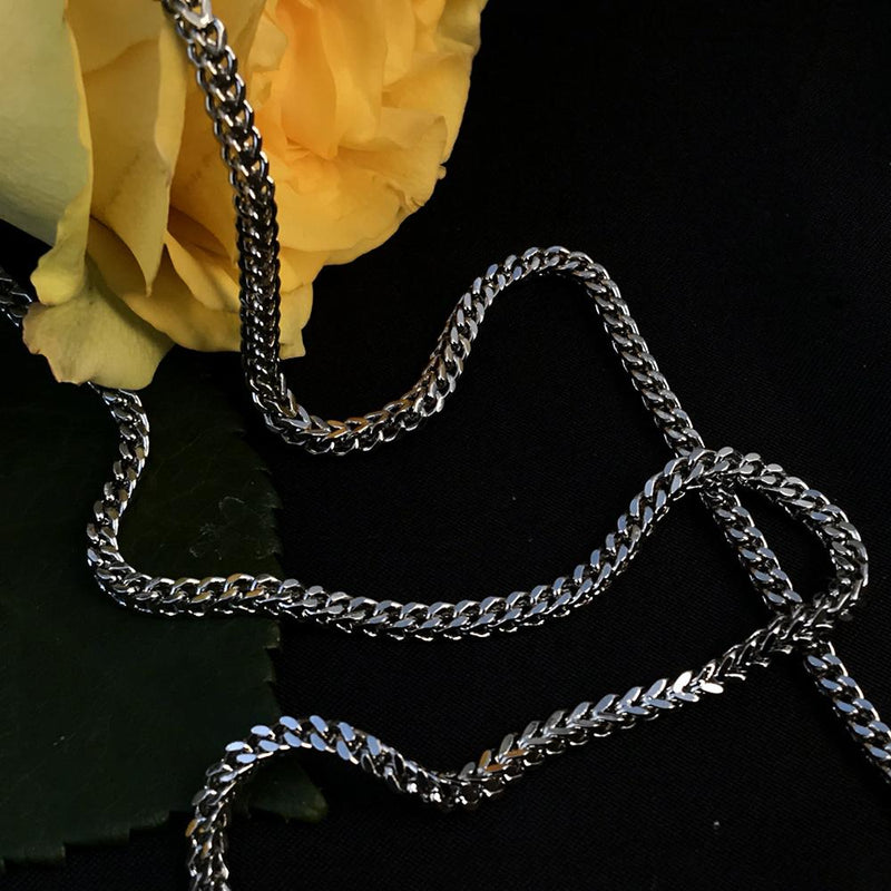 Franco Chain White Gold