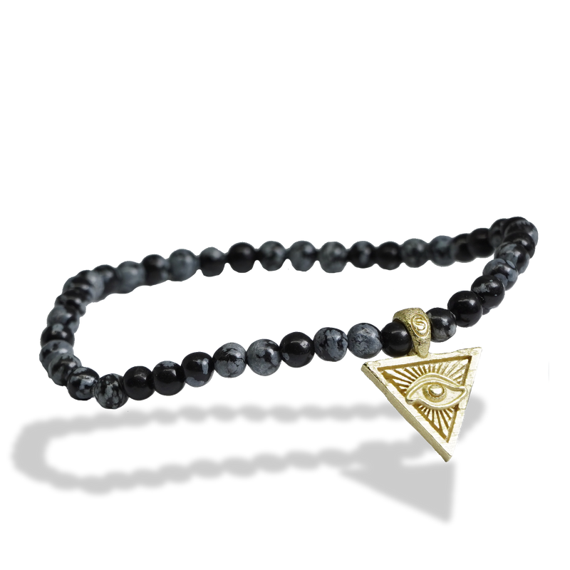 Saint Nyjah Eye of Providence Bracelet Gold