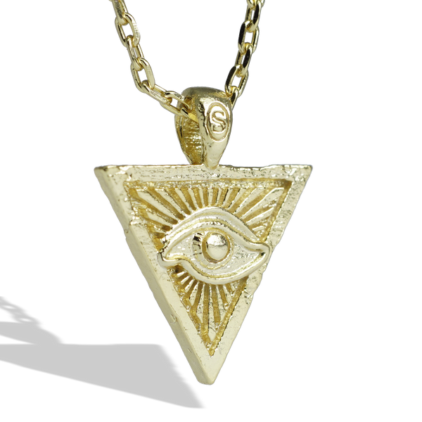Saint Nyjah Eye of Providence Gold