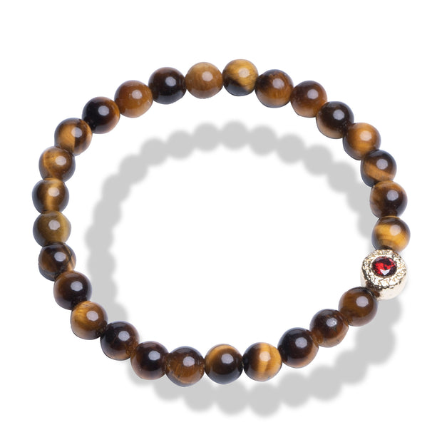 Tigers Eye Bracelet | Good Luck