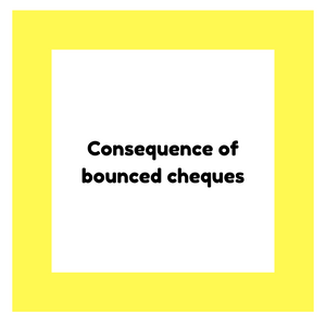Consequences Of Bounced Cheques in the UAE