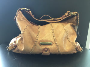 62f692bcce43 Ladies pre-loved studded Isabella Fiore Audra Hobo Handbag