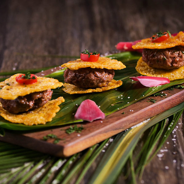 Tostones & Steak Snack