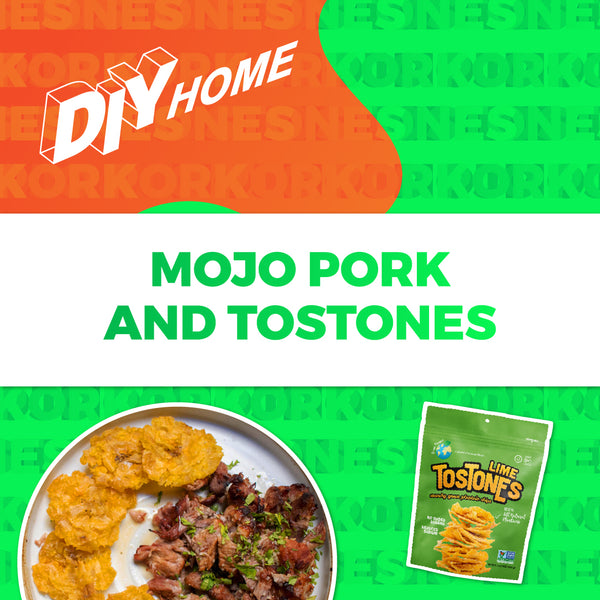 Mojo Pork and Tostones