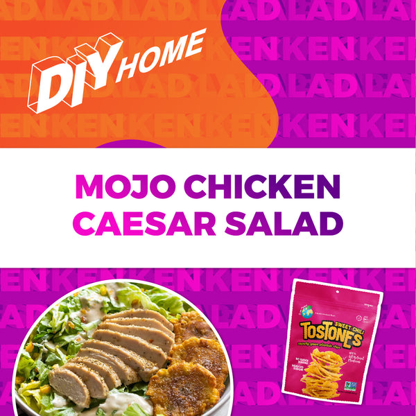 Mojo Chicken Caesar Salad