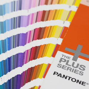 Coated Pantone Book Fanned Out Showing All Colors