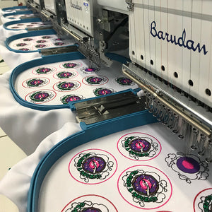The Patch-making Process at The Patchsmith