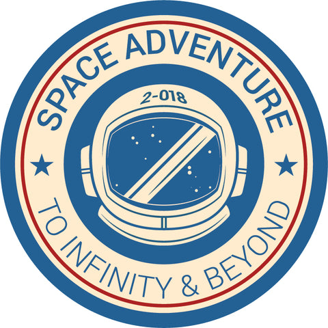 Space Adventure Patch - How To Match A Pantone Color With Thread