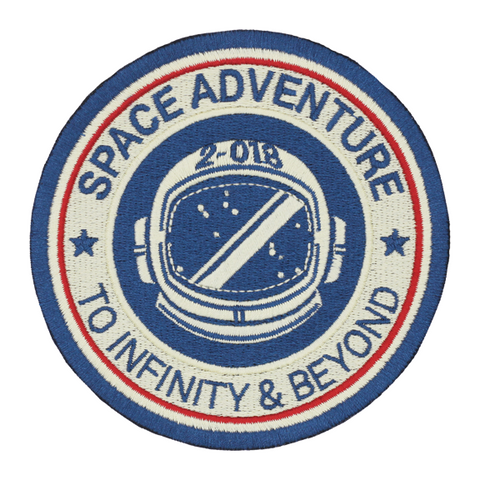 Space Adventure Astronaut Patch - To Infinity & Beyond