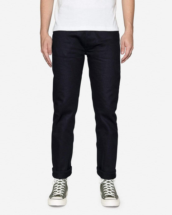 3Sixteen CT-120X Classic Tapered Mens Jeans - Shadow Selvedge W30 L37 CT-120X30 3Sixteen Jeans