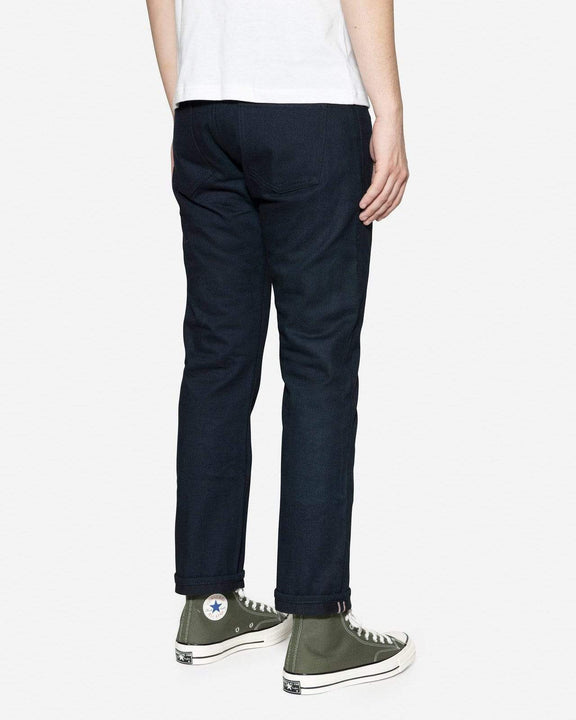 3Sixteen SL-120XK Straight Leg Mens Jeans - Rinsed Shadow Kibata Selvedge 3Sixteen Jeans
