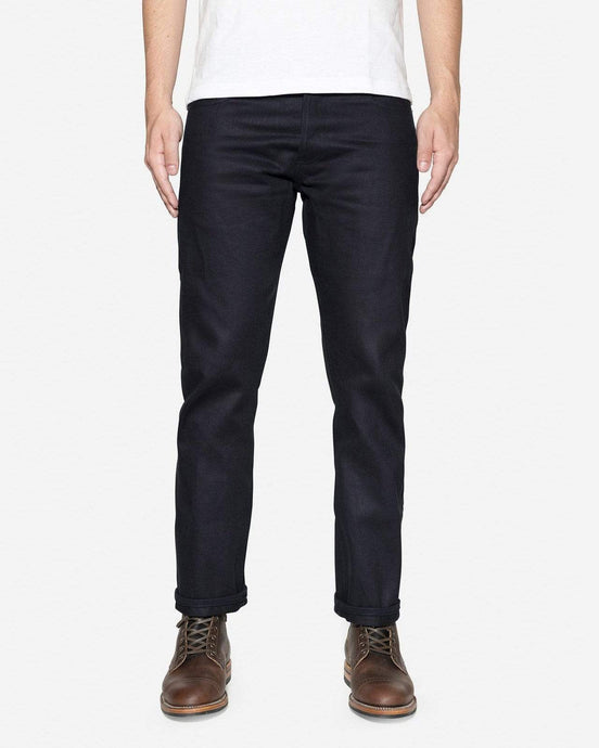 3Sixteen SL-121X Straight Leg Mens Jeans - Heavyweight Shadow Selvedge W30 L37 SL-121X30 3Sixteen Jeans
