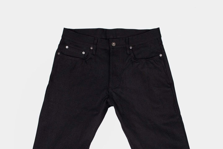 3Sixteen SL-220X Straight Leg Mens Jeans - Double Black Selvedge 3Sixteen Jeans