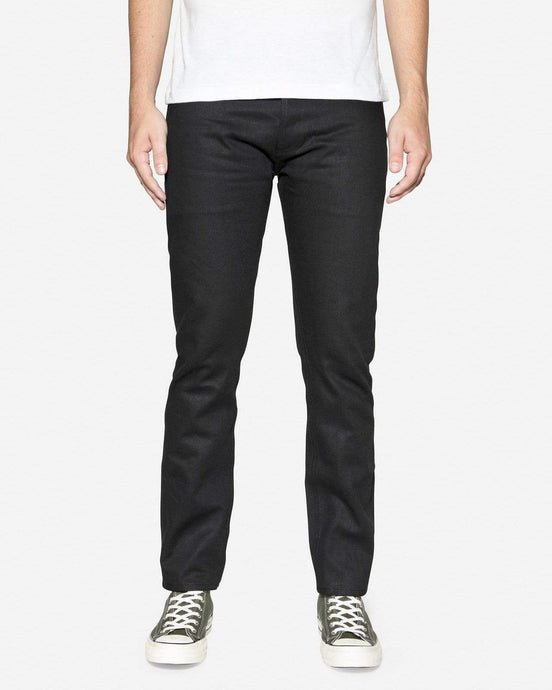 3Sixteen ST-220X Slim Tapered Mens Jeans - Double Black Selvedge W30 L36 ST-220X30 3Sixteen Jeans